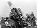 Austro-Hungarian heavy artillery in action