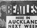 The Beatles come to Auckland