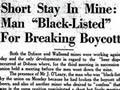 Black-listed for breaking beer boycott