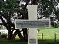 Cross marking scene of the Puketapu feud