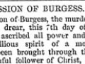 Confession of Burgess - Maungatapu murders