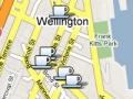 Classic Wellington cafes map