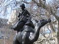 Imperial Camel Corps memorial in London