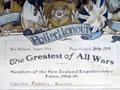 Carleton-Bennetts roll of honour