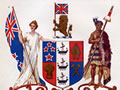 New Zealand Coat of Arms 1911-1956