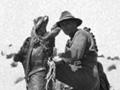 Trooper Harry Corbett and camel
