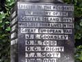 Coutts Island war memorial