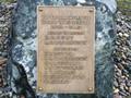 Edendale dairy factory war memorial plaque