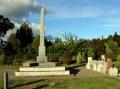 Featherston cemetery First World War memorial