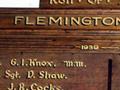 Flemington church memorial honour role
