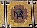 NZR floor tiles, Dunedin station