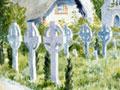 <em>New Zealanders graves in Codford churchyard</em> by Frederick Cumberworth