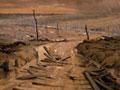 <em>Menin Road from Hooge Crater</em> by George Edmund Butler