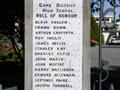 Gore High School hostel memorial gate