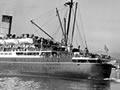 The <em>Hinemoa</em> in Wellington Harbour, 1951