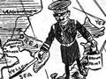 Threat of Japanese imperialism cartoon