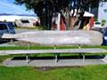 Hokitika beachfront memorial