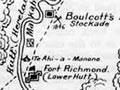 Hutt Valley NZ war sites map