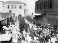 Indian lancers enter Haifa