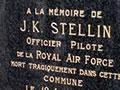 James Stellin memorial in France