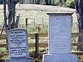 Kainaha cemetery NZ Wars memorials