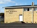 Karaka war memorial hall