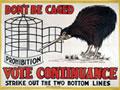 Pro-continuance kiwi poster