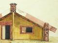 Te Kooti's sacred house at Te Whaiti