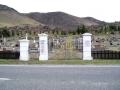 Kurow war memorial gates