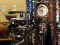 Early espresso machine