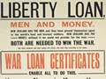 First World War loans