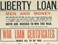 First World War loans