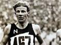 Jack Lovelock winning at Berlin Olympics