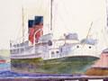 Painting of the SS <em>Maori</em>