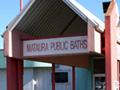 Mataura Public Baths roll of honour boards