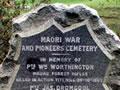 Mauku NZ Wars memorial