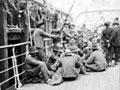 Niuean soldiers aboard SS <em>Arawa</em>