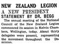 NZ Legion elects new president