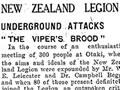 Report of New Zealand Legion meeting