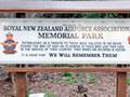Ohakea RNZAF Association memorial park