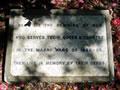 Holy Trinity Memorial Park NZ Wars memorial