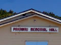 Pakawau memorial hall