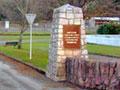 Picton Marina war memorial gates