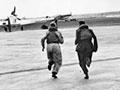 British pilots scramble