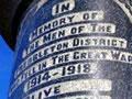 Prebbleton war memorial