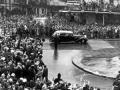 Sound: the royals progress up Queen Street, 1953