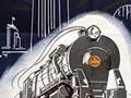 Railways poster for New Zealand centennial