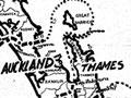 New Zealand Legion provincial boundaries maps