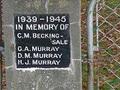 Rosewill Hall war memorial