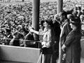 Royals visiting Auckland racing club, 1953